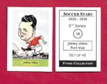 Port Vale Jimmy Oakes 38 (FC)
